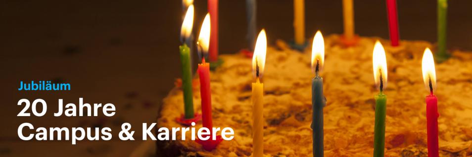 Geburtstagstorte mit Kerzen