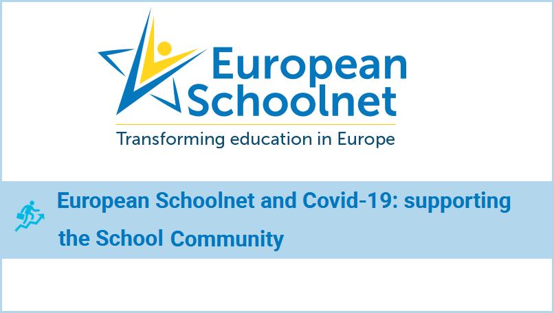 Logo des European Schoolnets und Titel des Artikels: