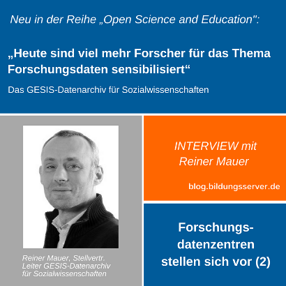 Sharepic zum Interview mit Reiner Mauer