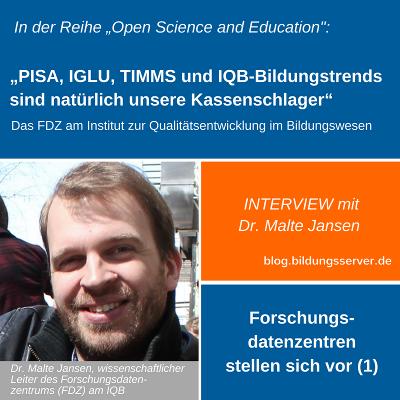 Sharepic zum Interview mit Dr. Malte Jansen