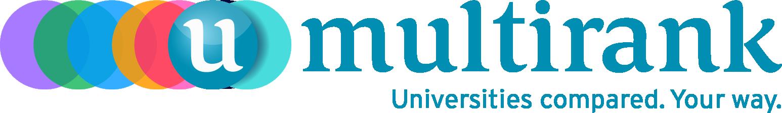 U-Multirank Logo mit Bildunterschrift