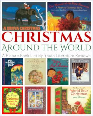 Cover von Büchern über Weihnachten in aller Welt.