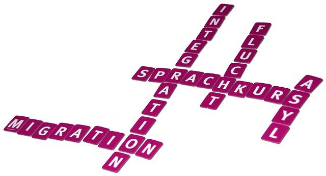 Scrabble-Bild zu Migration, CC0 Public Domain, Quelle: pixabay.com
