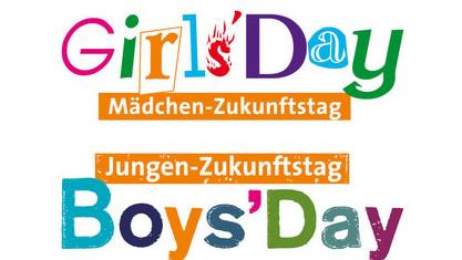Die Logos des Girls' Day und des Boys' Day
