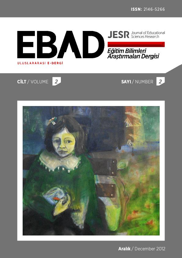 The journal's cover shows a painting of a young girl sitting on a bench and having a fish bowl in her hands.