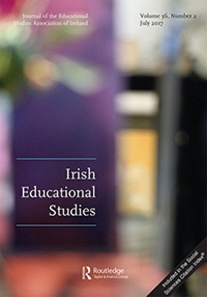 Cover from 2007 of the journal 'Irish Educational Studies' of the Educational Studies Association of Ireland (ESAI)
